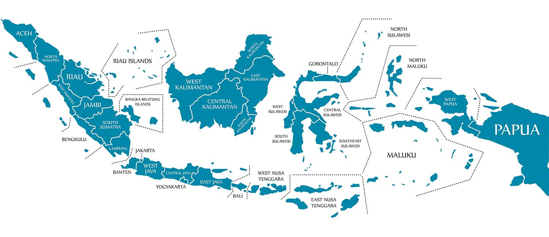Indonesia Archipelago Map
